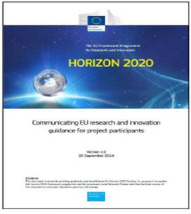 Communicating. EU Research & Innovation. A guide for Project participants