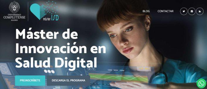máster de innovación en salud digital complutense