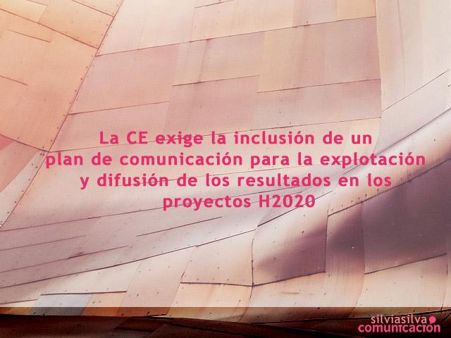 Ejemplos de comunicación en proyectos H2020