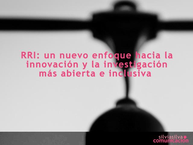 Investigación e Innovación responsable_ RRI