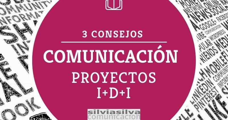 consejos de comunicación investigación, innovación, ciencia